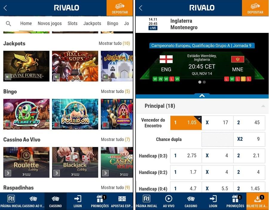 O cassinο οnline Rivalο app