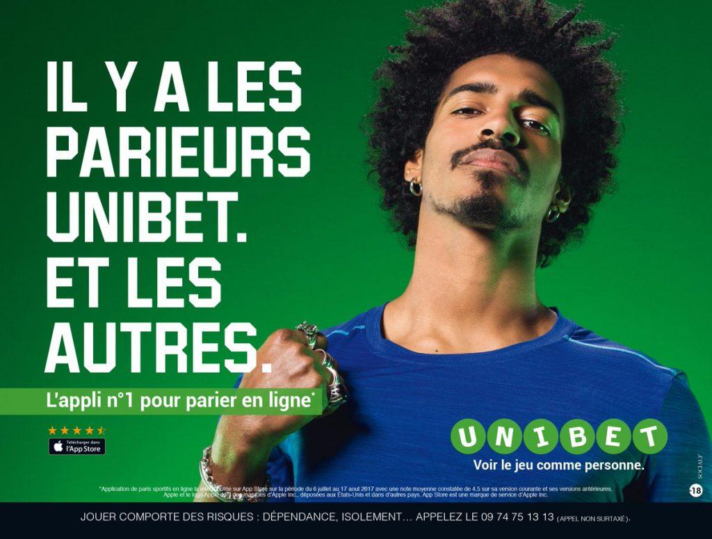 Apostas Sports no site da Unibet